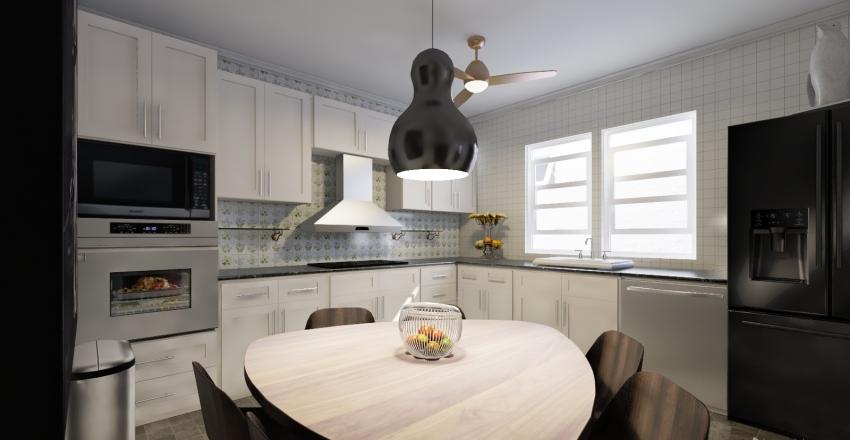 Caisinha Casa Interior Design Render