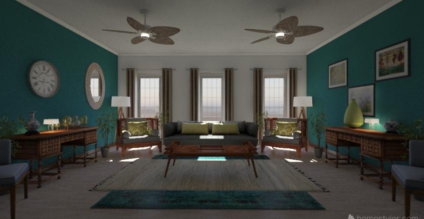 Nuevo diseño Interior Design Render