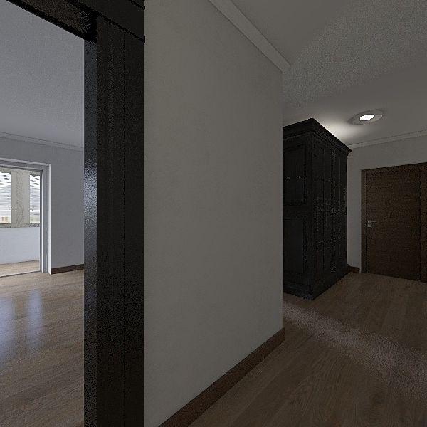 Моя пустая квартира Interior Design Render