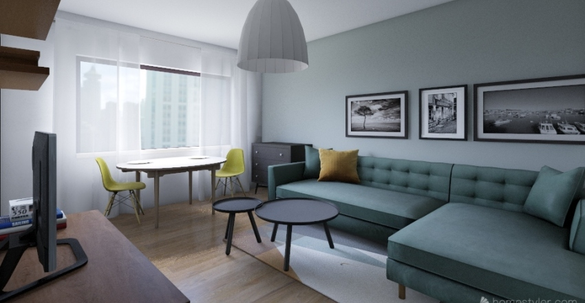 peto-byt Interior Design Render
