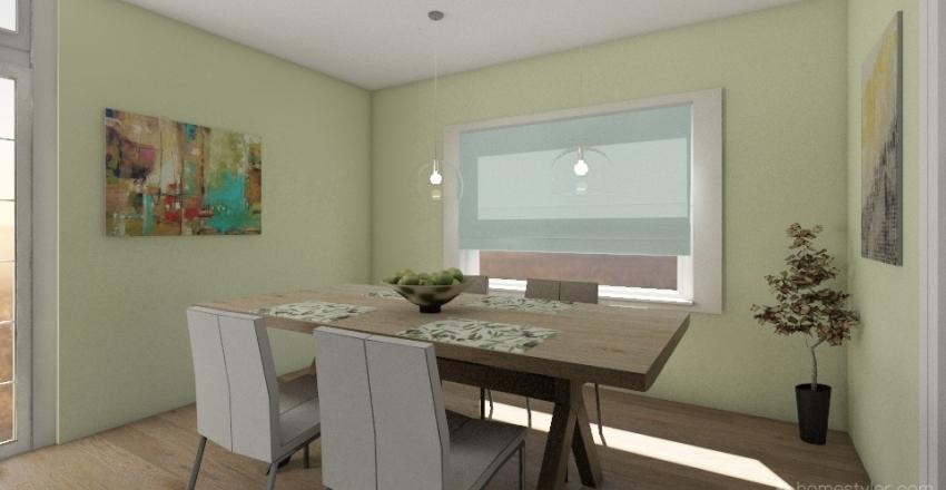 Single family house Interior Design Render