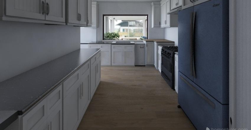 672 Wolf Avenue Interior Design Render