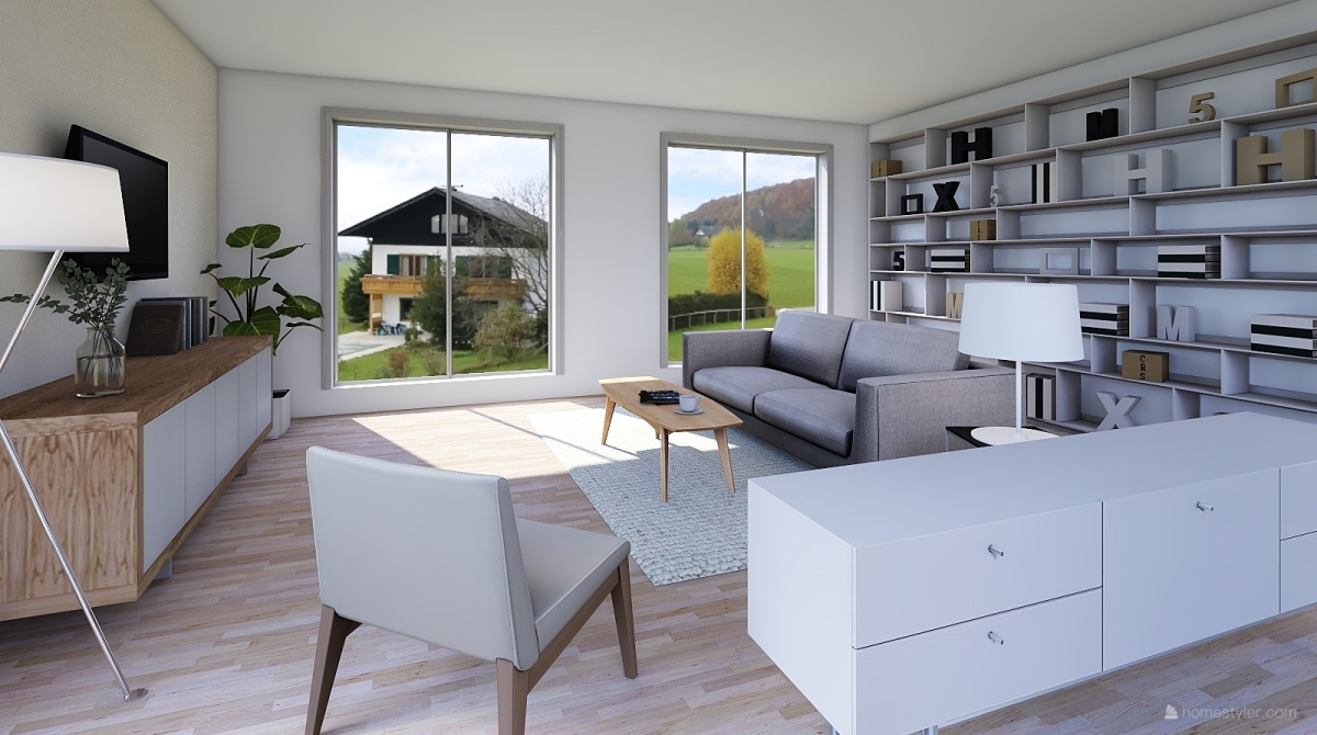 Farm living interior decoration rendering yvn yvn design for Homestyler italiano
