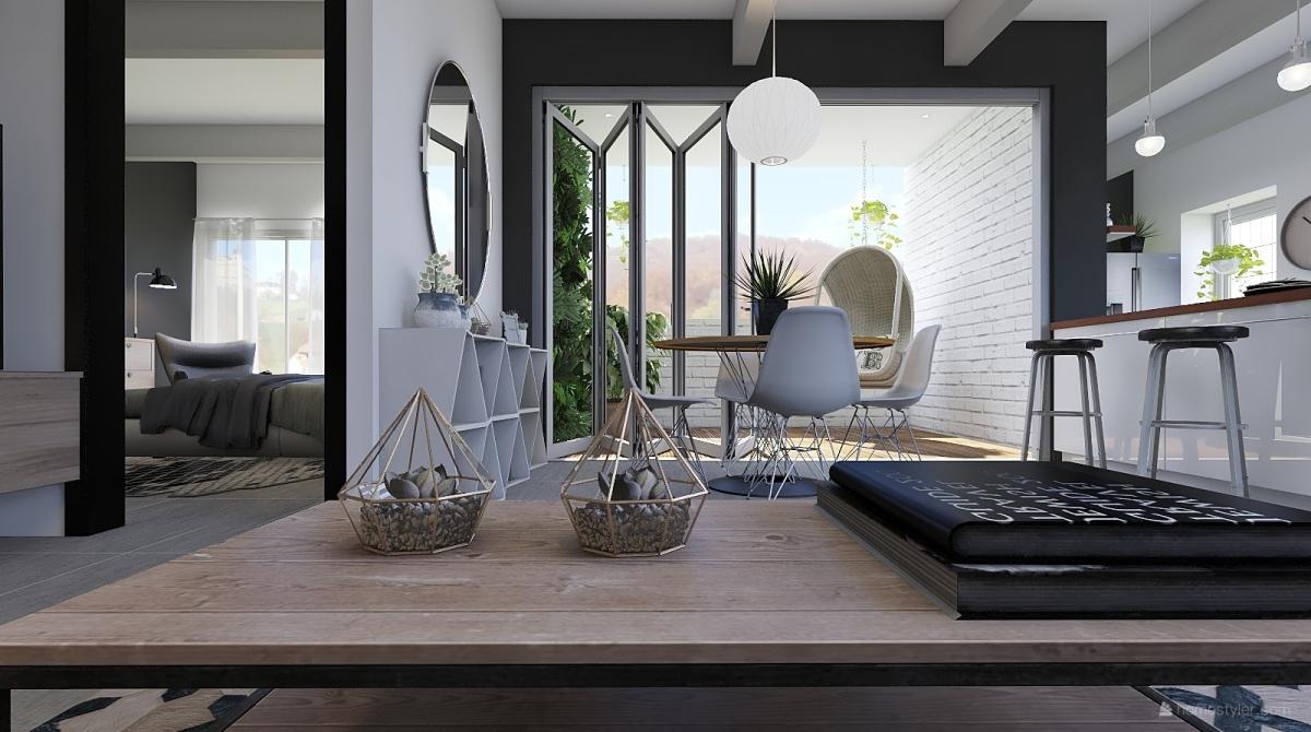 Casa para dos interior decoration rendering sweetdesign18 for Homestyler italiano