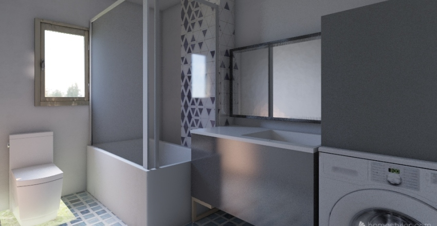 Appartment Final Plan Interior Design Render