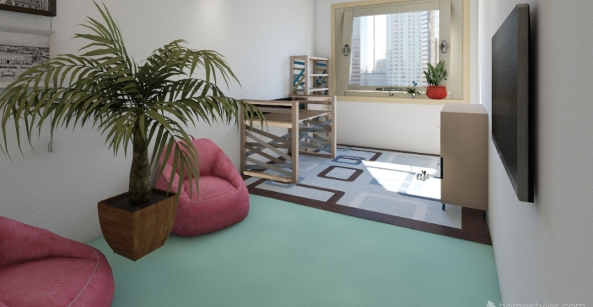 Bedy Interior Design Render