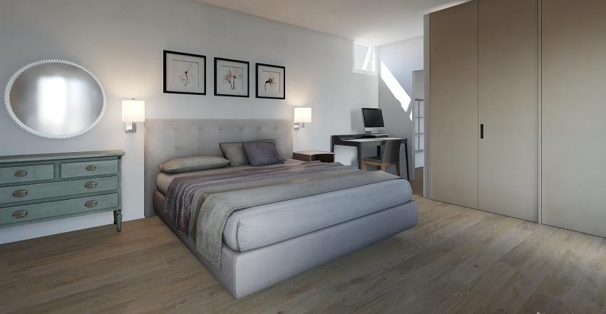 Sottotetto 2 Interior Design Render