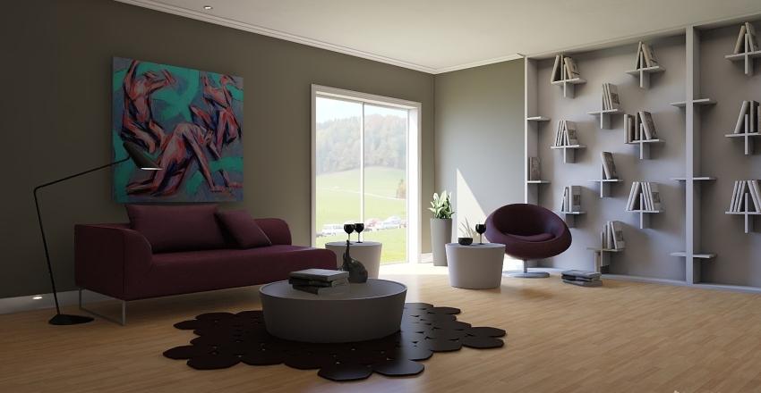 Estante Interior Design Render