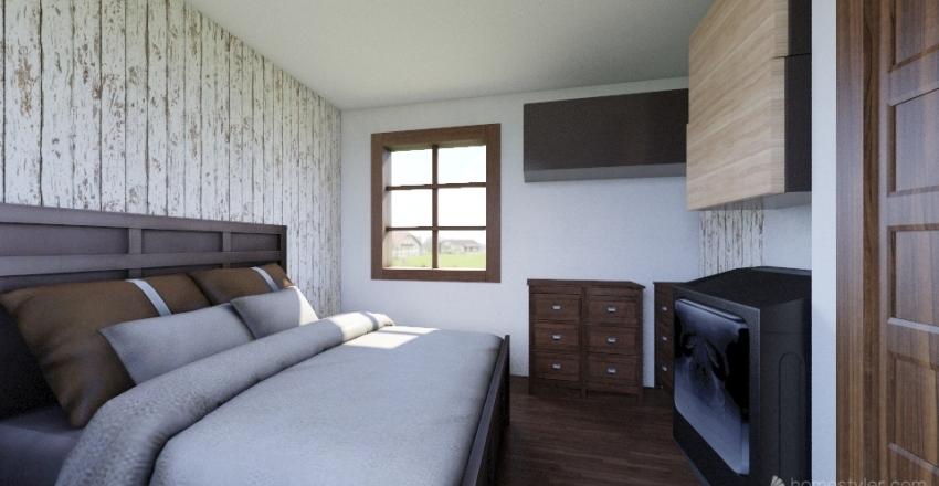 Home design tiny house Interior Design Render