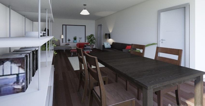 Carolina's appartment Interior Design Render