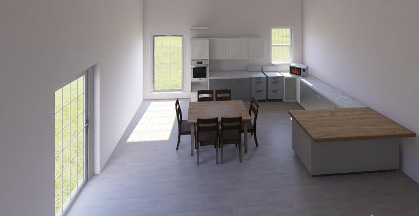 Casa Garage Interior Design Render