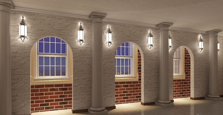 majlis Interior Design Render