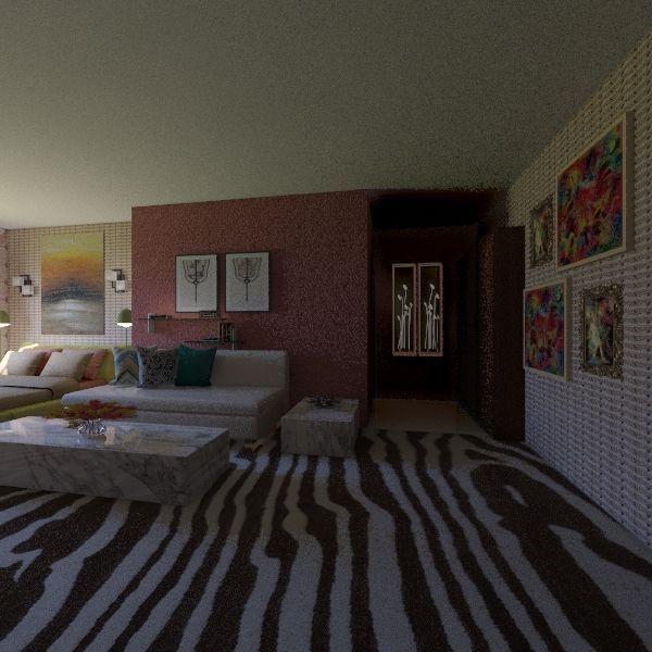 save and open Interior Design Render