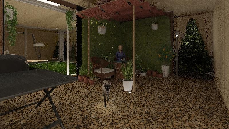 garden 2 Interior Design Render
