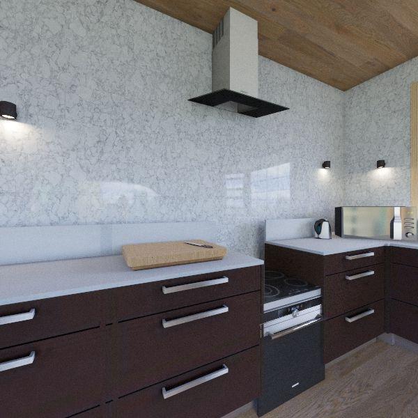 Foods Kitchen Interior Design Render