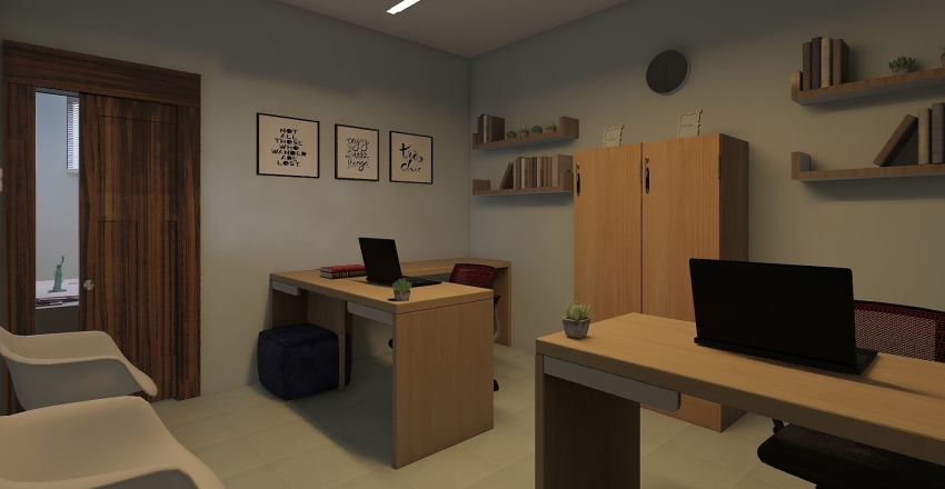 sala okubo Interior Design Render