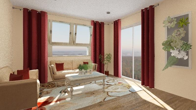 Casa Patricia Interior Design Render