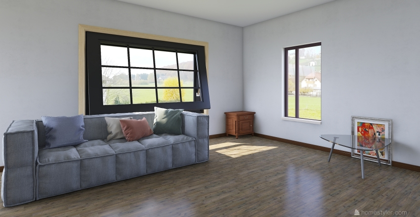 Учебный Interior Design Render