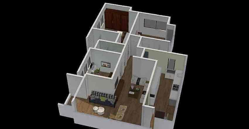Nitin Joshi option 2 Interior Design Render