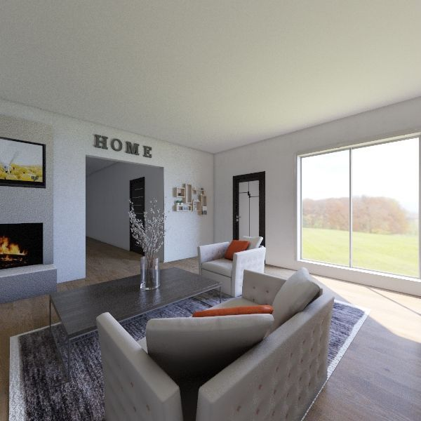 New Home/House Interior Design Render