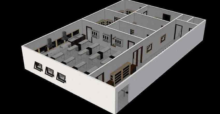 LABORATORIUM IPA SMP Interior Design Render