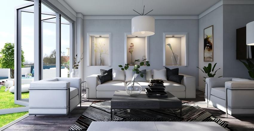 lttle blue Interior Design Render