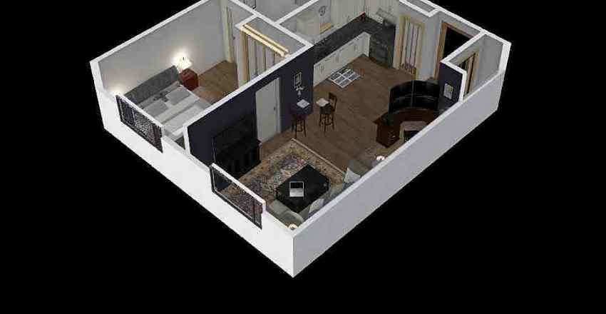Casa Santa Marta II Interior Design Render