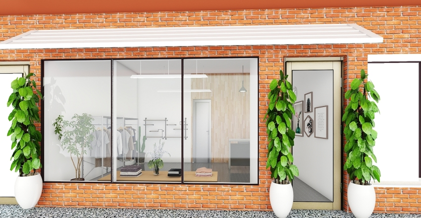 VCI CONCEPT SHOP Interior Design Render