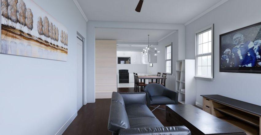 915 Glass St (NEW 1st Floor) Interior Design Render