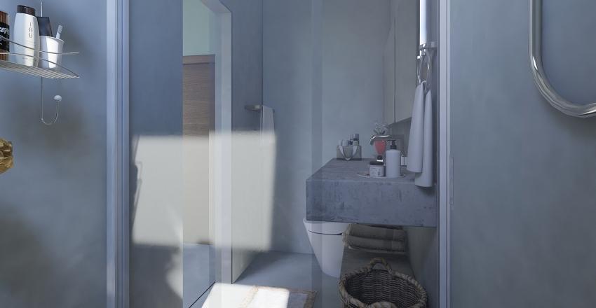 Mateus e Bia ORIGINA opção banheiro Interior Design Render