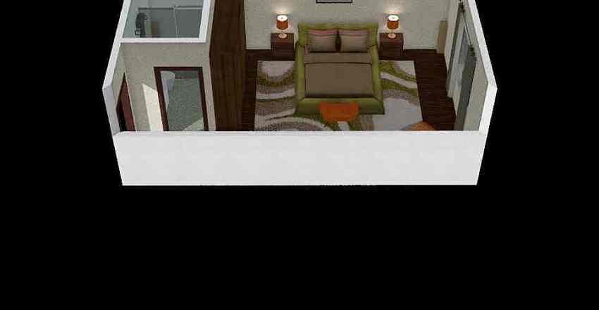 HAbitación 1 Interior Design Render