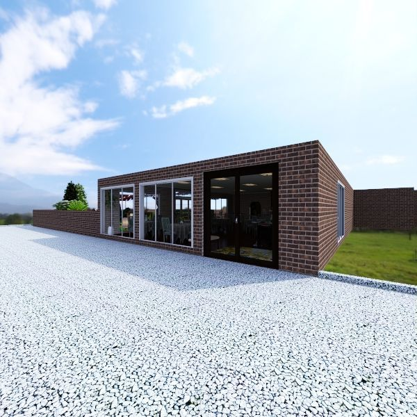 The Garden Interior Design Render
