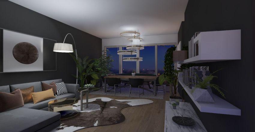 modelo casa barranco Interior Design Render