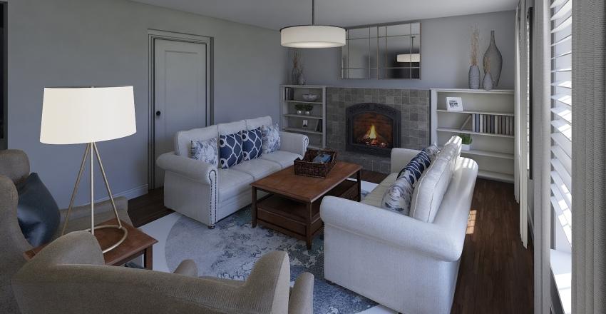 Jill & Trever Interior Design Render