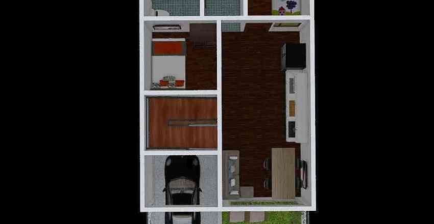 casa jamundi Interior Design Render
