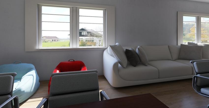 smart classroom Interior Design Render