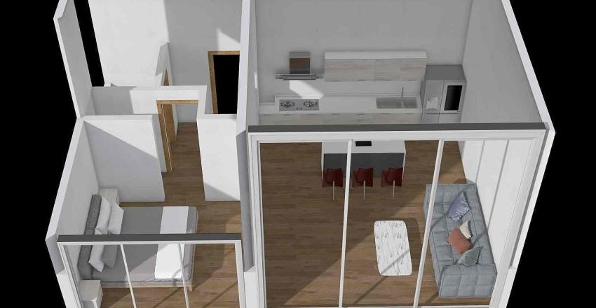49 m² Interior Design Render