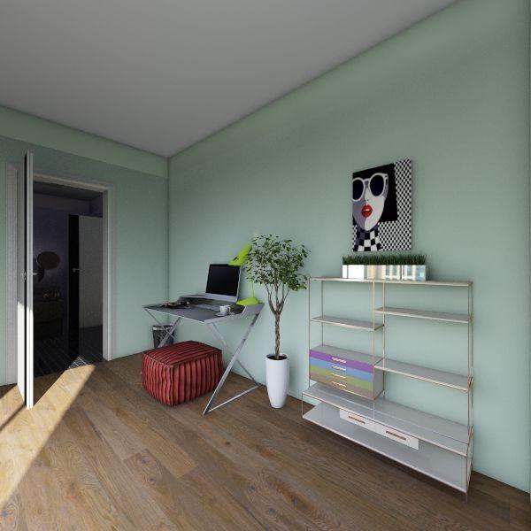Tiny Modern House Interior Design Render