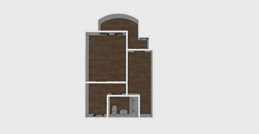 1-комн_0323 Interior Design Render