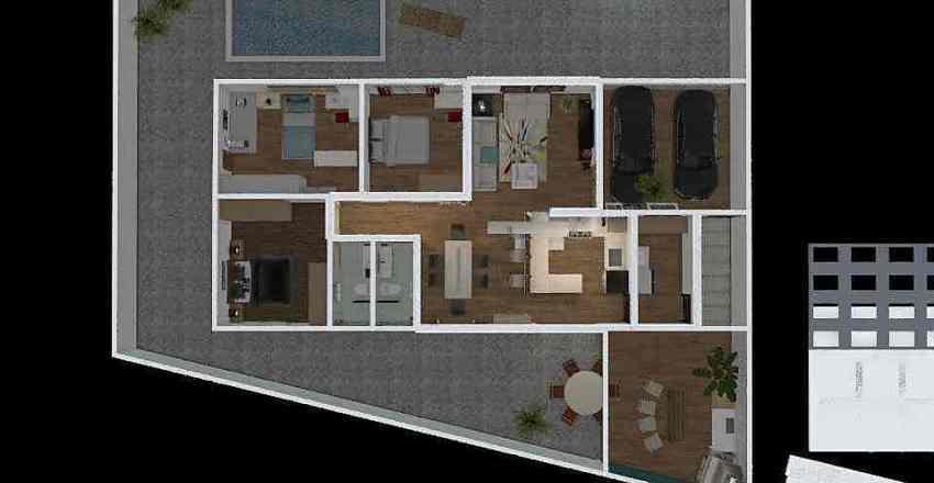 Modelo9 Interior Design Render