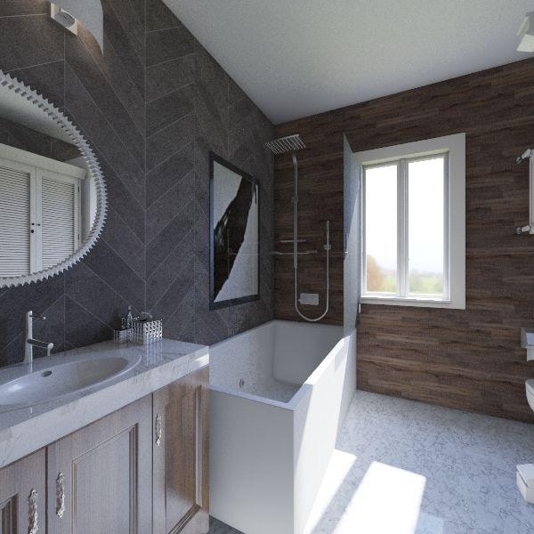 modern 3 Interior Design Render