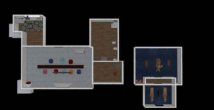 smart class room Interior Design Render