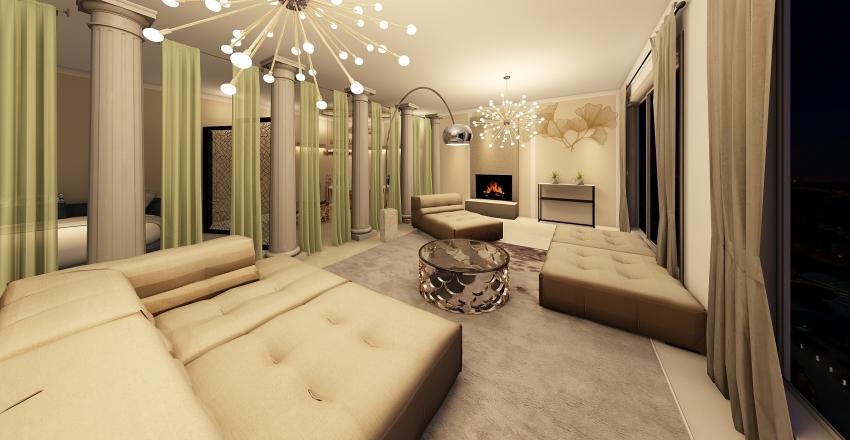 RELAX room Interior Design Render