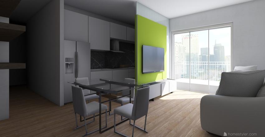 La Rocca 1 Interior Design Render