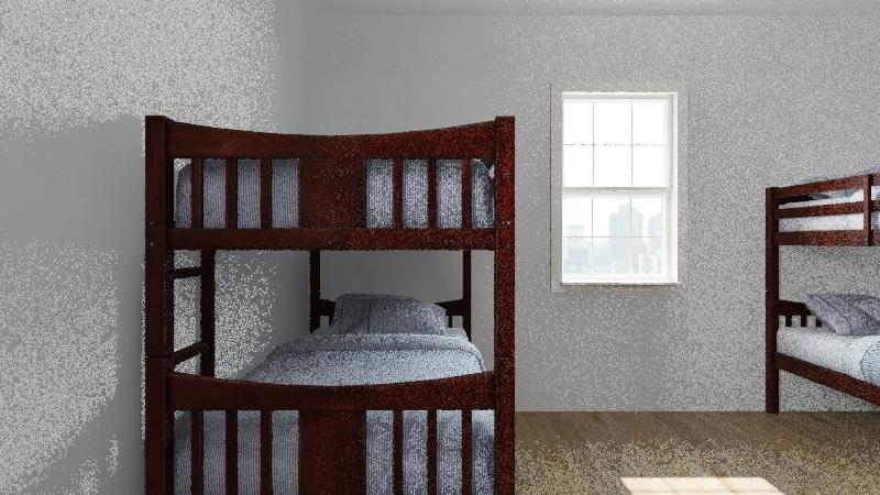 kayla dorm Interior Design Render