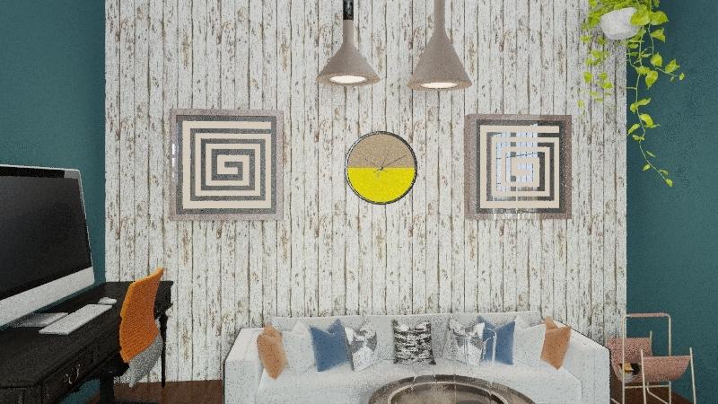 Rejon Apartment Interior Design Render