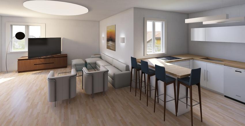 Sonia & Avi - Urban 7 Interior Design Render