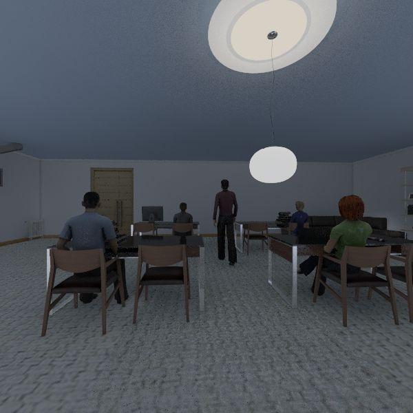 Classroom imagination Interior Design Render