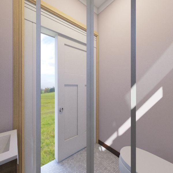 Bathroom Outhouse Interior Design Render