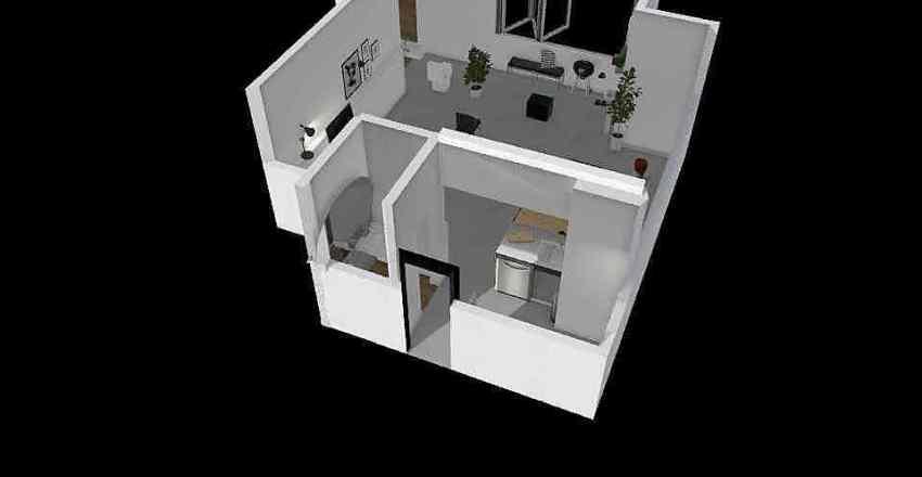 Paginacao Munari Interior Design Render